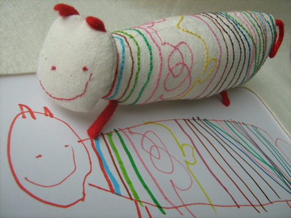 This company will craft a real toy from a child's drawing. Absolutely AMAZIN