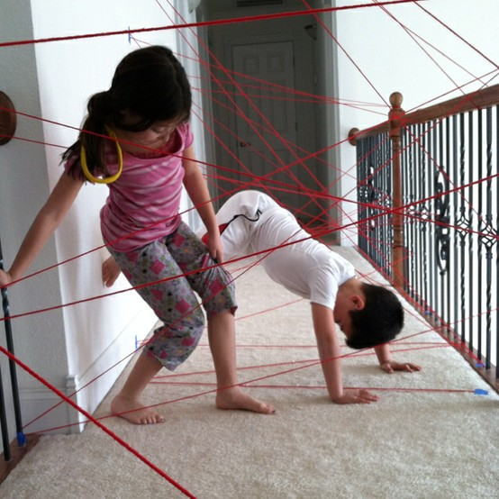 """""""spy training"""" and other fun indoor activities for kids. Next rainy da"""