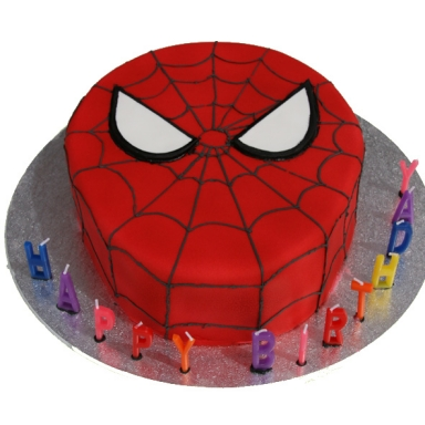 spiderman cake we know how to do it