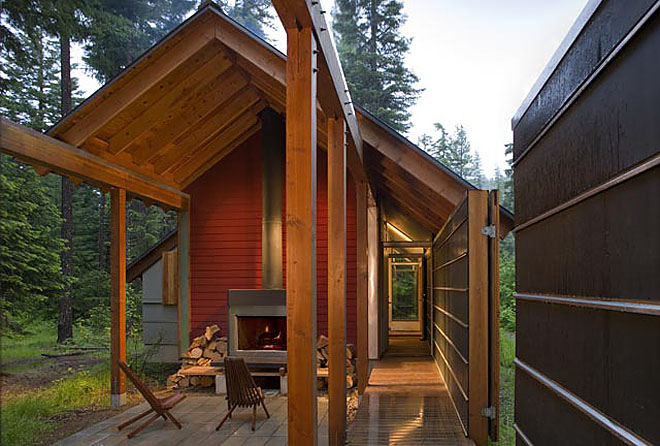 Weekend cabin cle elum washington love this outdoor for Cle elum lake cabins