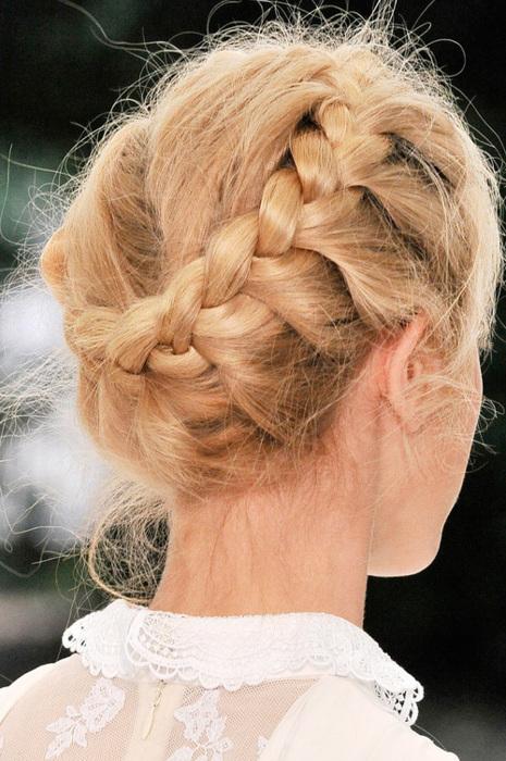 Фото косы на длинные волосы на каждый день своими руками