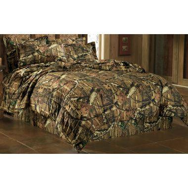 Hunter's new Camo bedding
