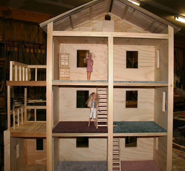 Чертеж домик для кукол своими руками