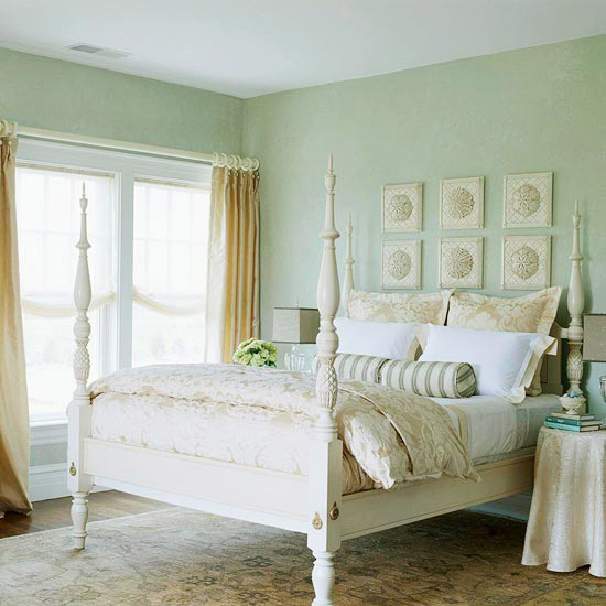 Beachy Keen ~  The beach theme is perfect for my dream home's master bedroom