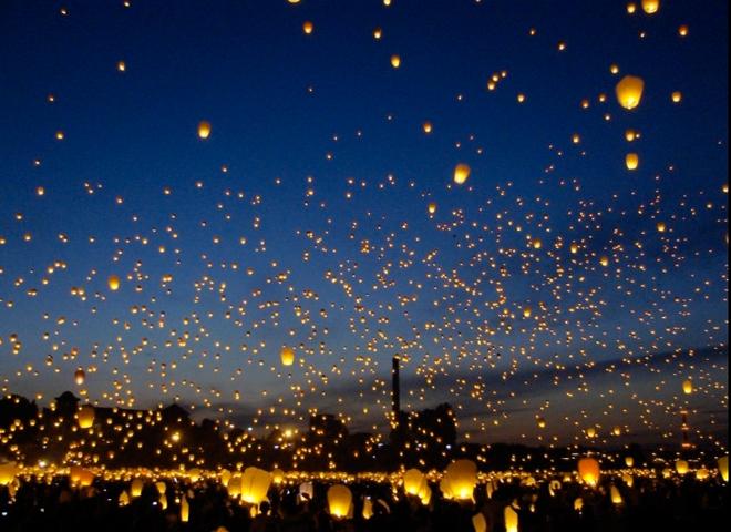 Lanterns – Midsummer's Night festival: Poland