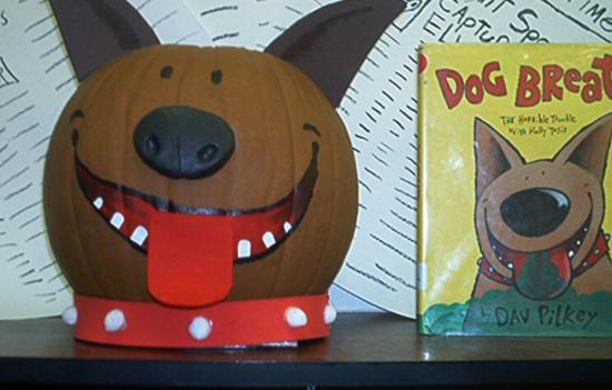 Book Character Pumpkin Decorating Contest