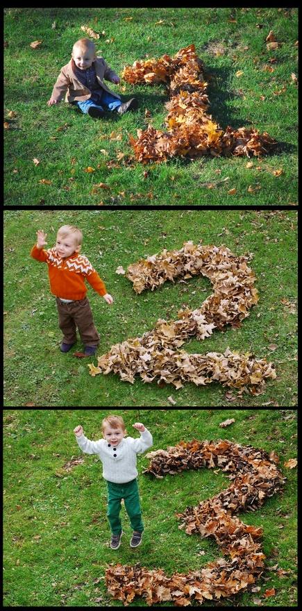 Fall Birthday photo ideas