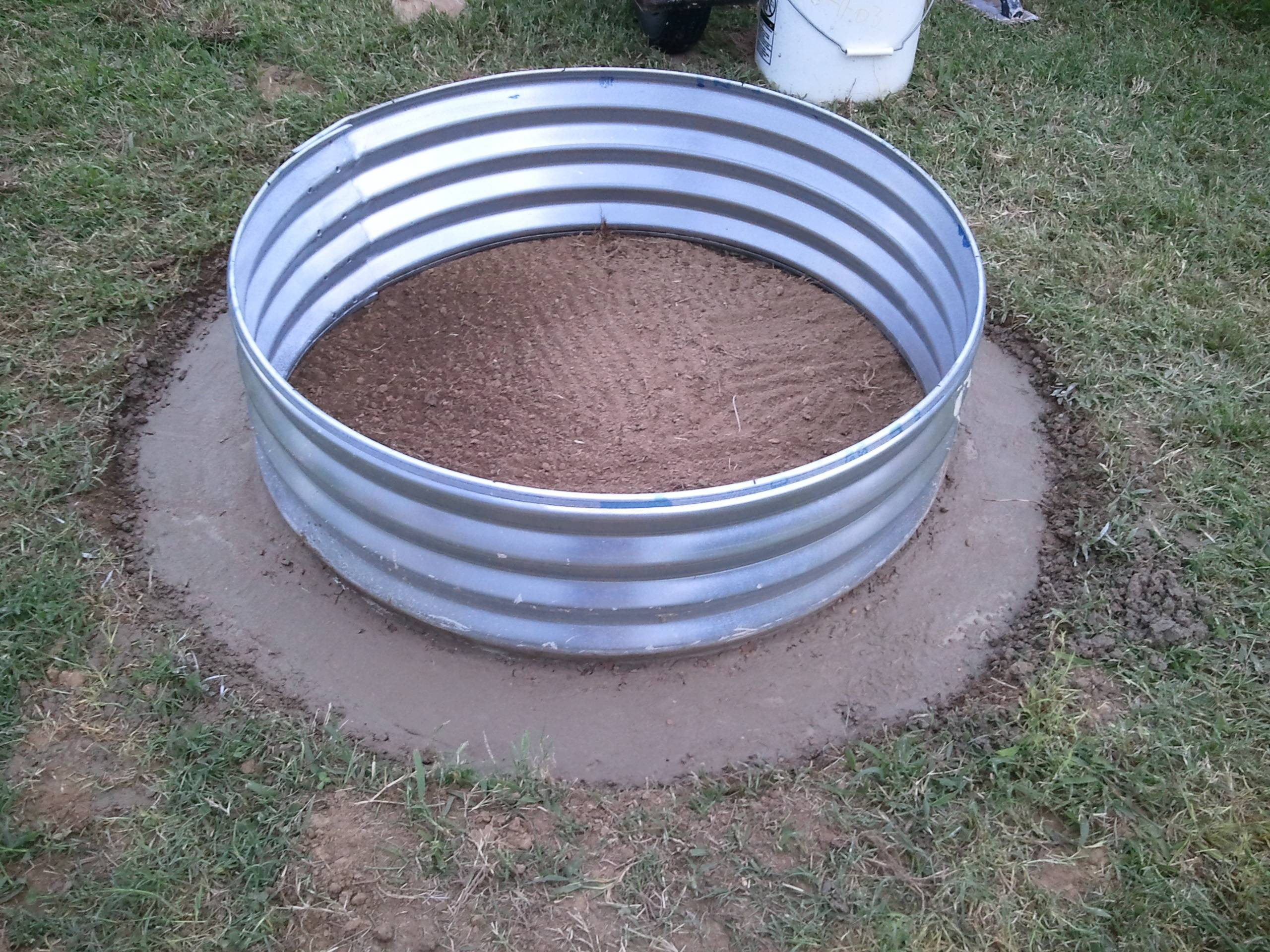 Fire Pit Rings : Simple quot how to fire pit we know do it
