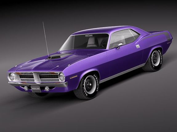 Purple Has Never Looked Good On Anything But Mopar Muscle