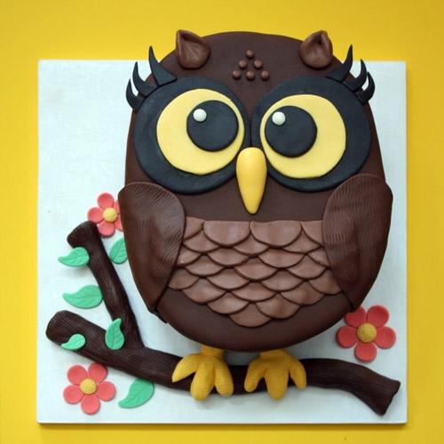 How Do I Make An Owl Graduation Cake