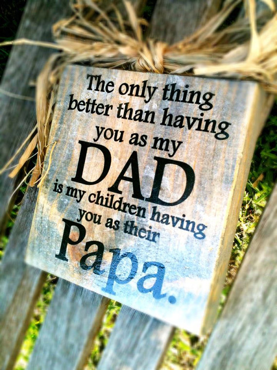 For your Dad on father's day, or christmas.