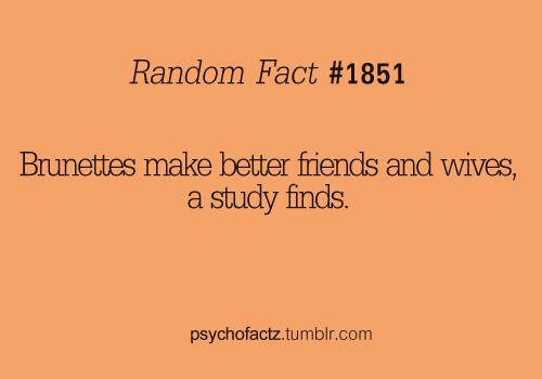 Random fact…