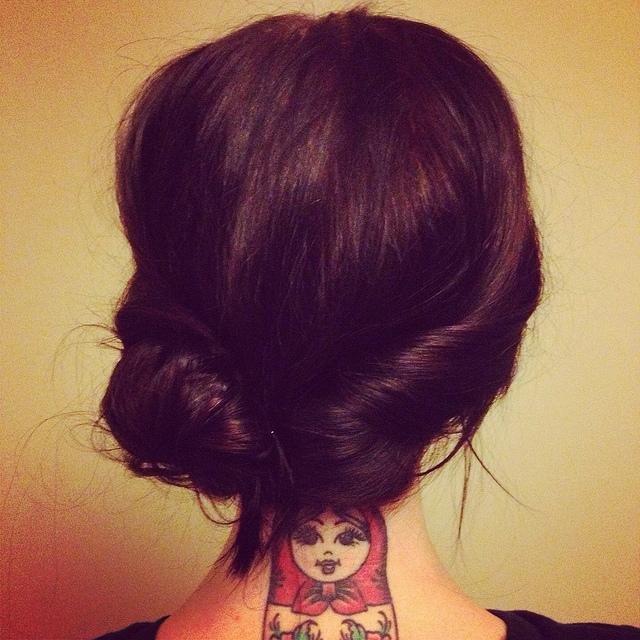 Russian Doll tattoo!! WANT