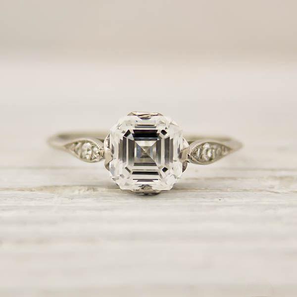 Vintage Tiffany diamond ring – love it