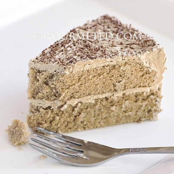 Mocha Chiffon Cake Ingredients