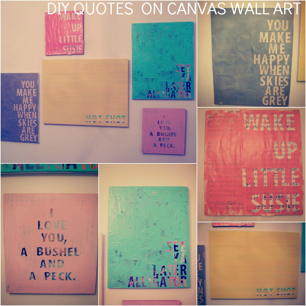 Diy quotes on canvas we know how to do it for Newspaper canvas art