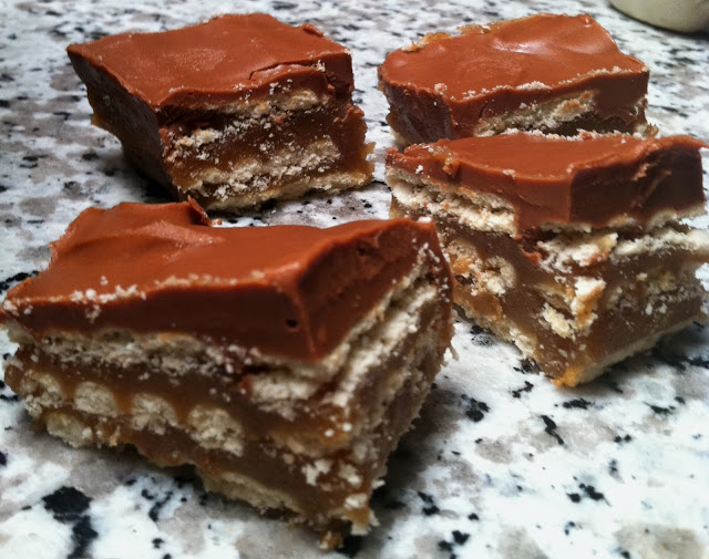 Crunchers – A Swirl of chocolate, brown sugar, peanut butter, butterscotch and crackers.
