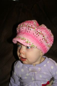 Free Crocheted Brimmed Hat Pattern