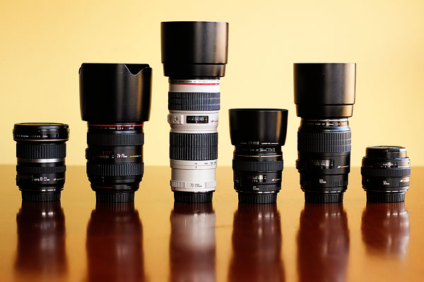 Explanation of camera lenses