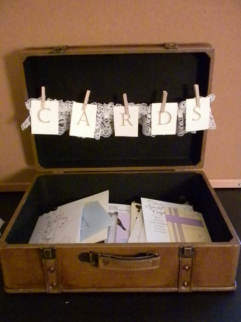 such a cute idea for graduation party card box if the grad is going away to coll