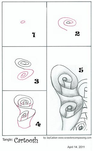 Zentangle pattern Cartoosh