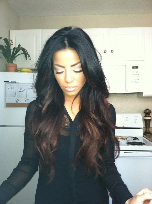 ombre for black hair | We Know How To Do It