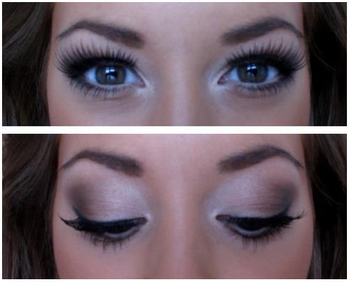 Gorgeous Natural Smokey Eyes. We Know How To Do It