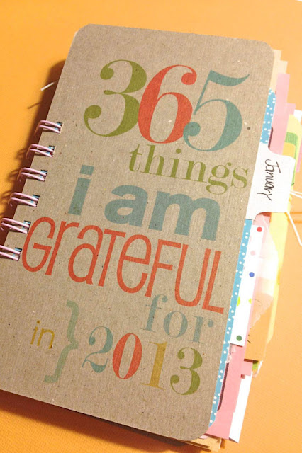 Grateful journal for the whole year