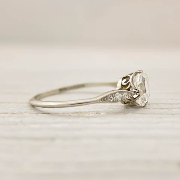 ... Asscher Cut Diamond Engagement Ring by Tiffany and Co | New York Vint