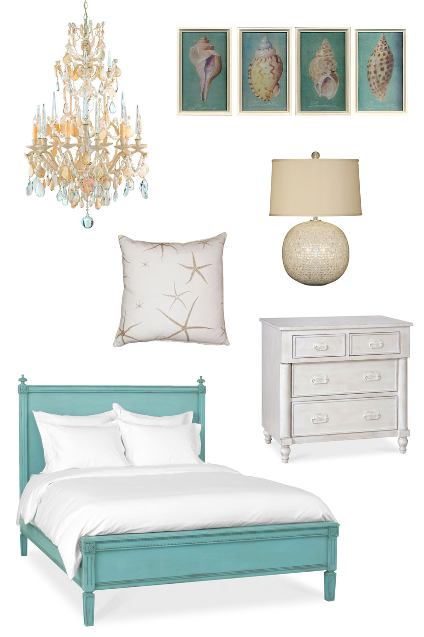 Coastal beach style bedroom decor we know how to do it for Beach coastal decorating ideas