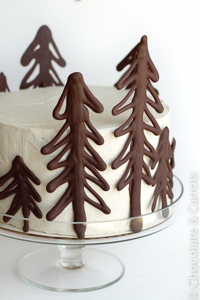 Как сделать новогоднее украшение торта