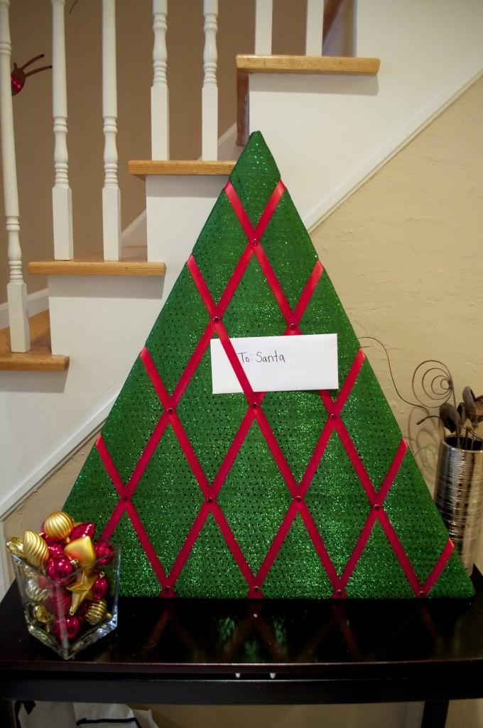 Christmas Card Holder DIY