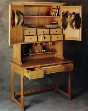Fly Tying Bench Amazing Work By Artist Roberto Lavadie