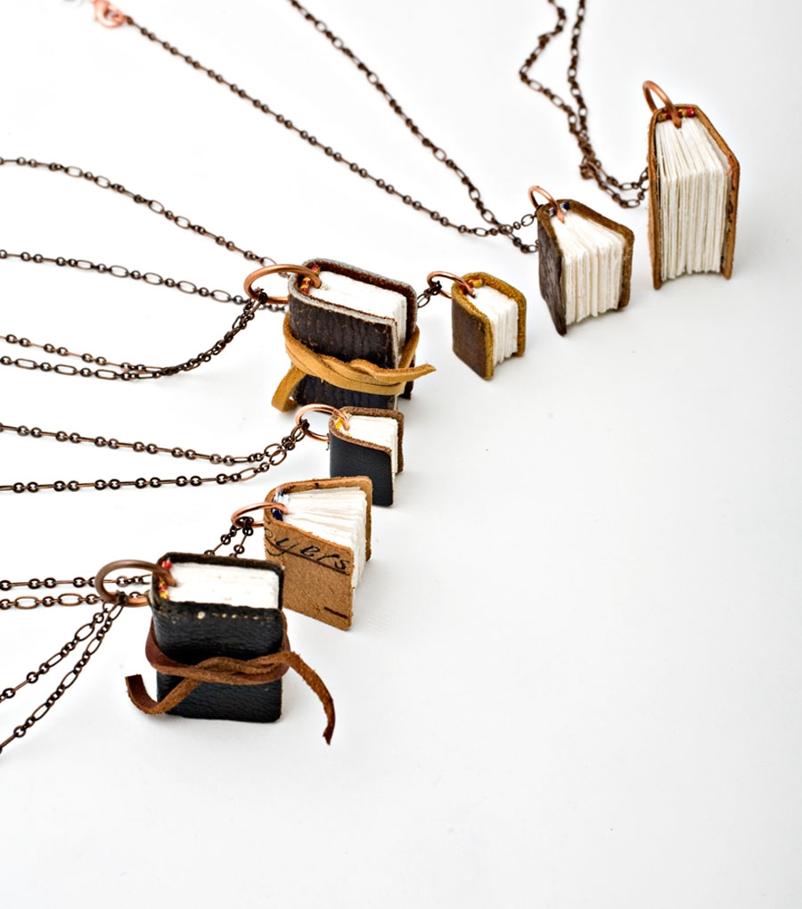 Black Spot Books Necklace