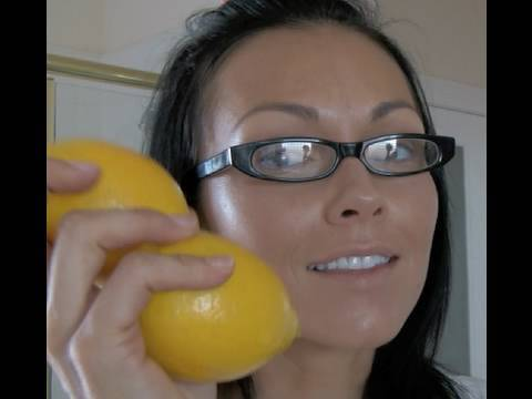 The Skin Doctor: LEMON TRICK  How to get rid of age spots, acne, freckles and mo