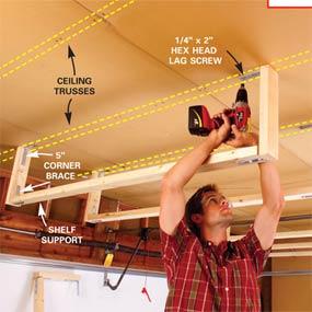 4 simple, cheap garage storage solutions