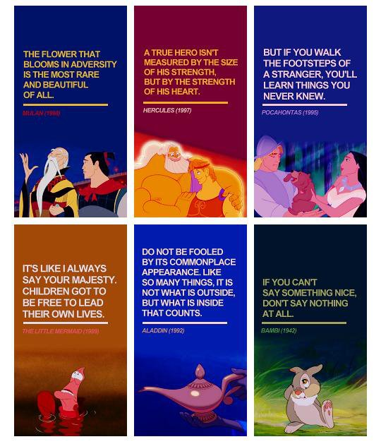 Disney Movie Quotes - Quotes Sayings Messages