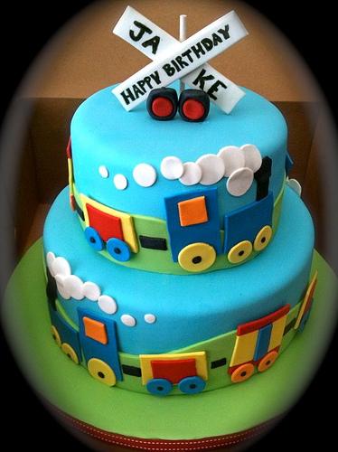 Pics Photos - Train Theme Cake Birthday Cakes For Boys Pictures
