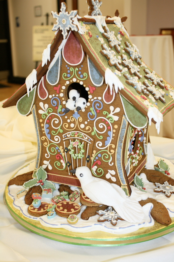 elegant bird house gingerbread hose