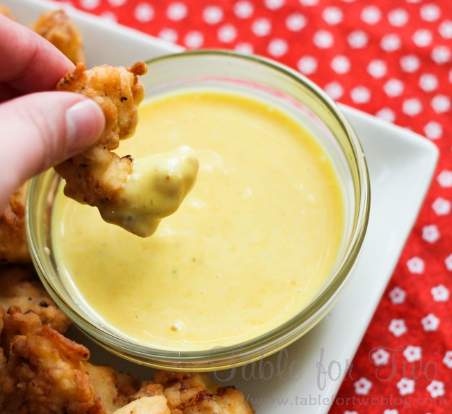 OH MY GOSH, BEST SAUCE EVER!!!!! Chick-fil-a sauce: 1/2 cup mayo, 2 tbsp. mustar