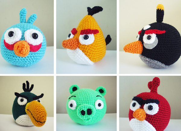 Free Angry Bird Amigurumi Crochet Patterns : Free Download Crochet Angry Bird Hat Html The Tutorial ...