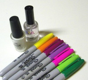 DIY Sharpie Nails, interesting!