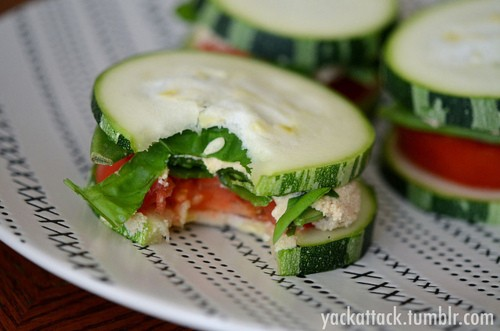 Cucumber Sandwiches (no bread) – do this with tuna and tomatoes! Perfect snack.