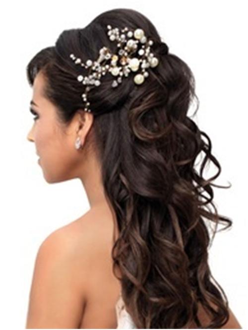 Peachy Bride Hairstyles Wedding Day Short Hairstyles Gunalazisus