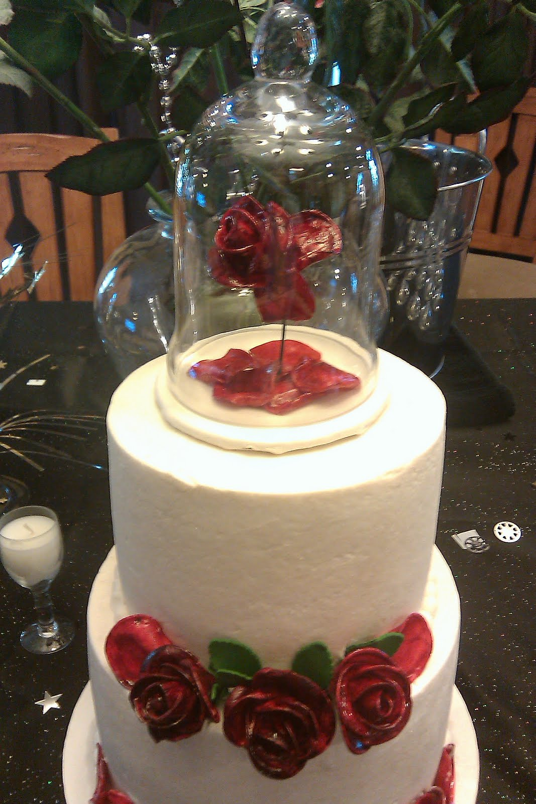 Beauty And The Beast Wedding Cake We Know How To Do It