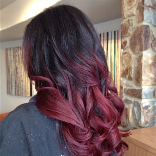 Red Ombre Hair | How Do It