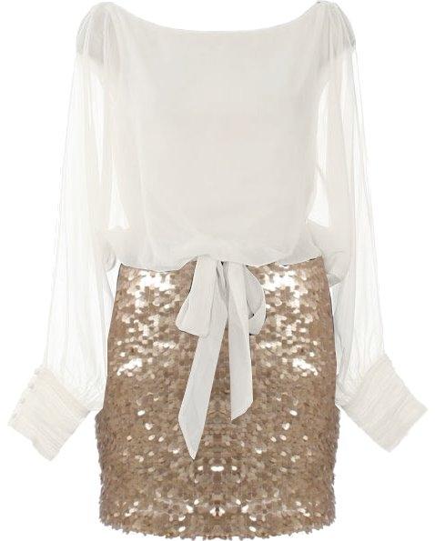 Seasonal Sparkle Cocktail Dress