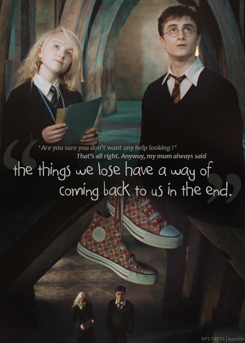 Luna-one of the wisest characters of hp.