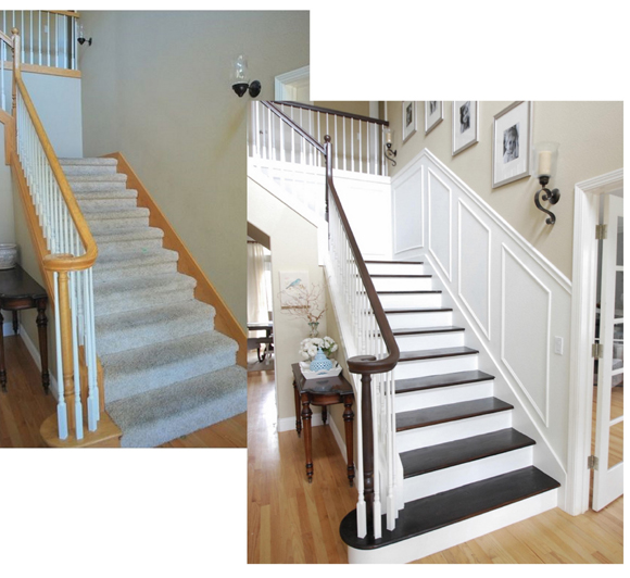 Never discount the hidden potential in your house! Paint & trim goes a long