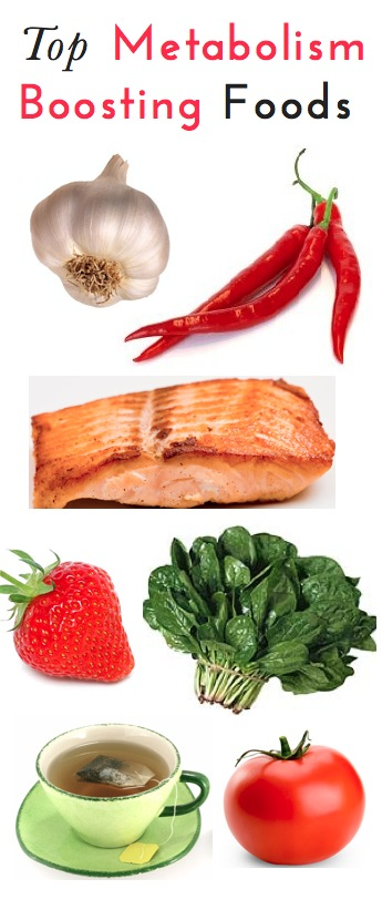 Top foods that boost the metabolism. Great list of expert-recommend foods that h